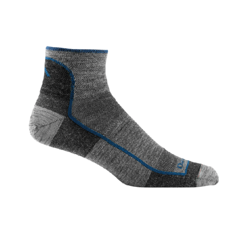 Darn Tough 1/4 Light Sock | Charcoal