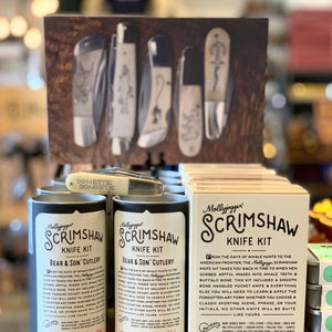 Scrimshaw Knife Kit | Barlow