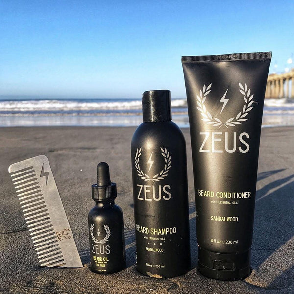 Zeus Sandalwood Beard Oil