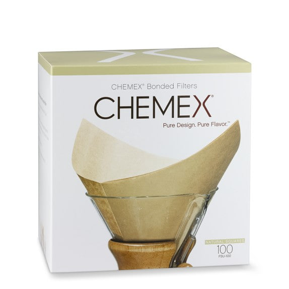 Chemex Unbleached Square Filters