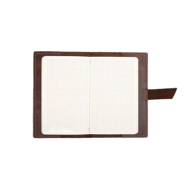 Navigator Leather Notebook | Saddle