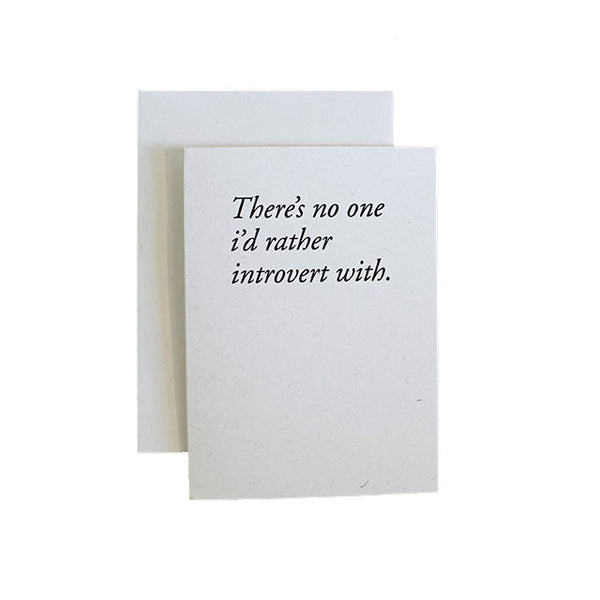 Constellation & Co Introvert With Card