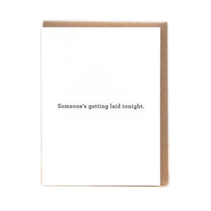 Getting Laid Card