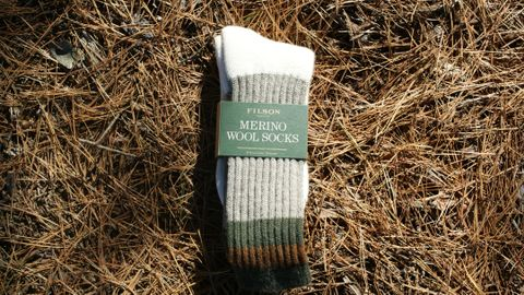 Filson 1970's Logger Thermal Sock | Green