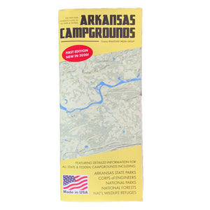 Arkansas Campground Map