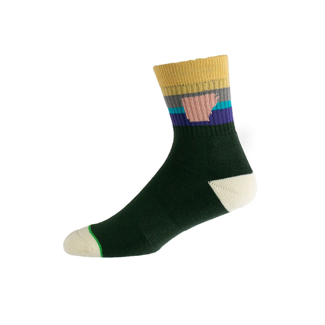 Taligater Mid Sock | Green