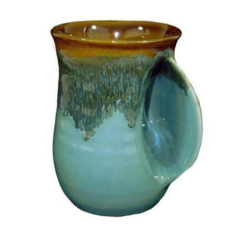 Clay In Motion Handwarmer Mug | Ocean Tide