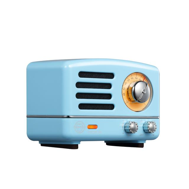 OTR Blue Metal Radio Speaker
