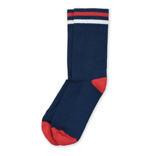 Kennedy Lux Athletic Sock | Navy