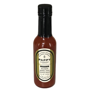 Bourbon Barrel Aged Pepper Sauce