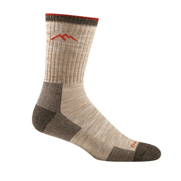 Darn Tough Hiker Micro Crew Cushion Sock | Oatmeal