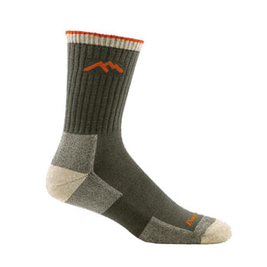 Hiker Micro Crew Cushion Sock | Olive