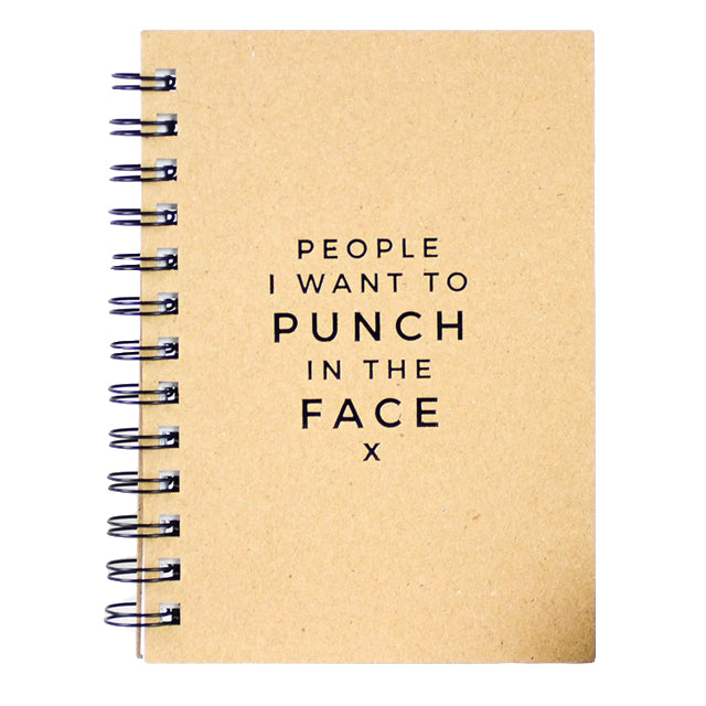 People I Want To Punch Journal