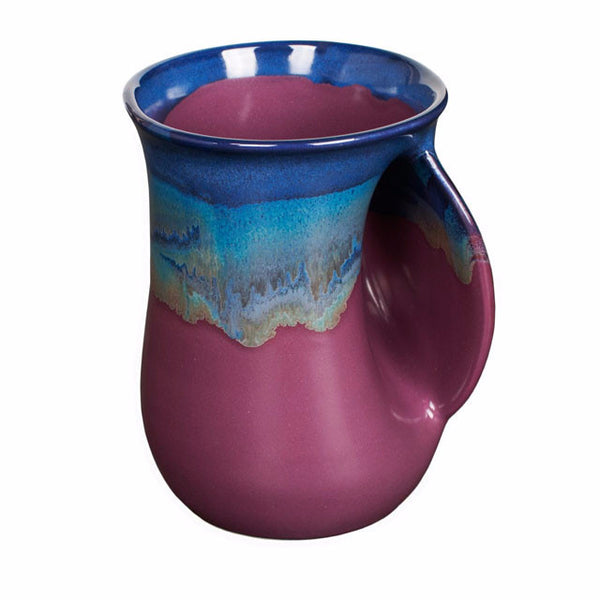 Clay In Motion Handwarmer Mug | Purple Passion