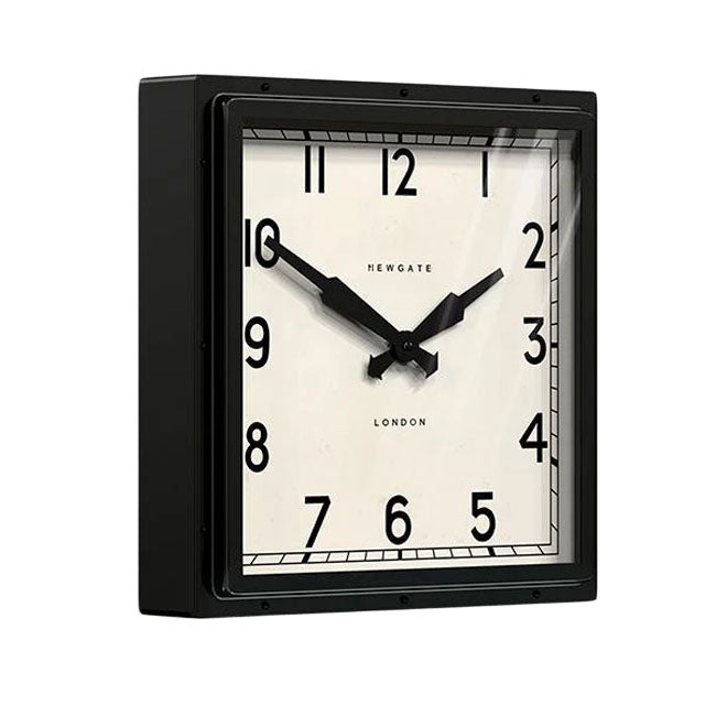 The Quad Clock | Black
