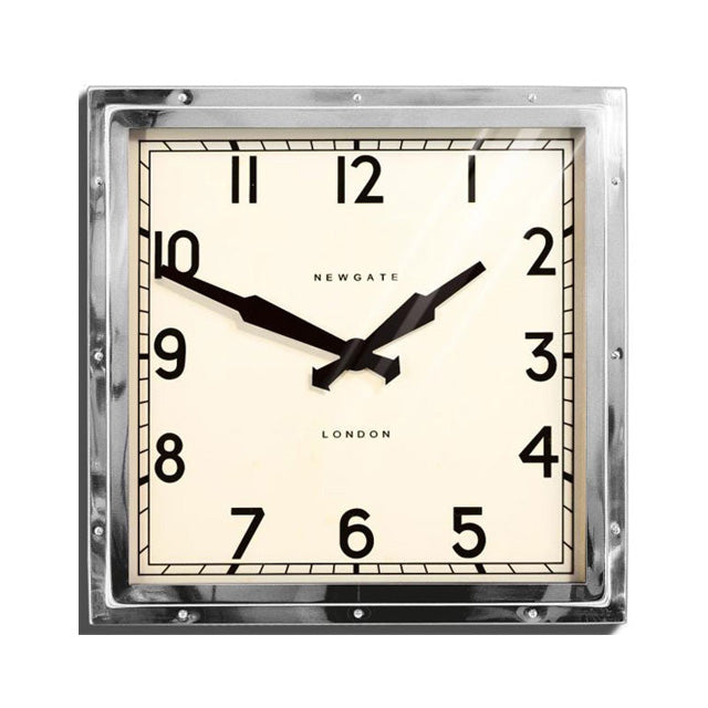 The Quad Clock | Silver