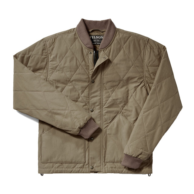 Quilted Pack Jacket | Tan