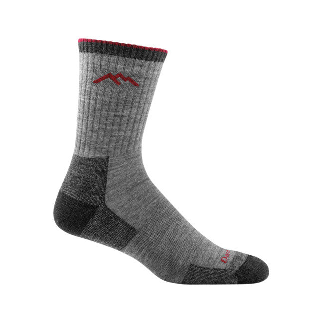 Hiker Micro Crew Cushion Sock | Charcoal