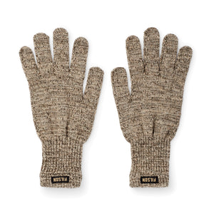 Full Finger Knit Gloves | Root Heather