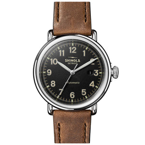 The Runwell Automatic 45mm | Black
