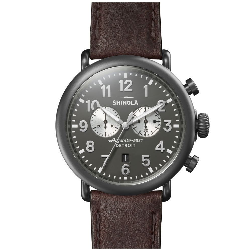 The Runwell Chrono 47mm | Cool Gray