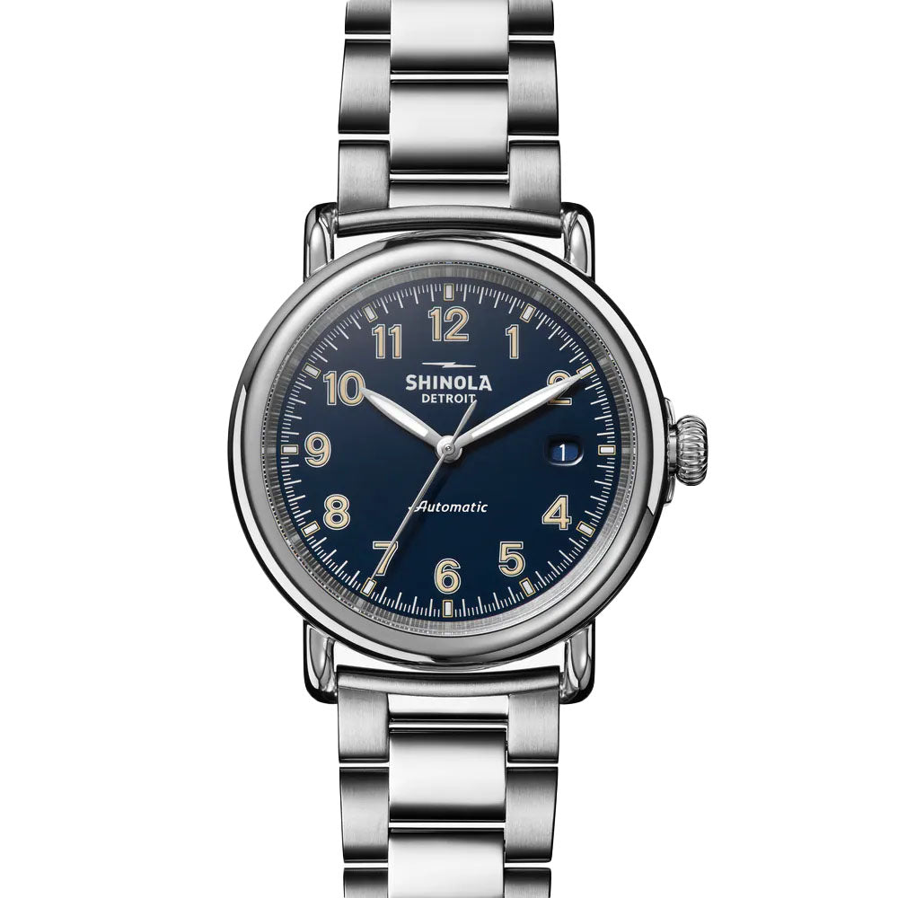 The Runwell Automatic 39.5mm | Midnight Blue