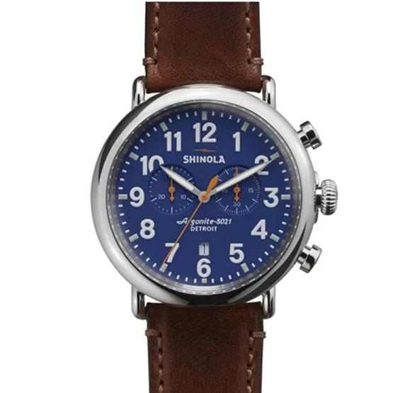 The Runwell Chrono 47mm | Blue