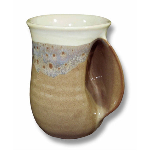 Clay In Motion Handwarmer Mug | Desert Sand