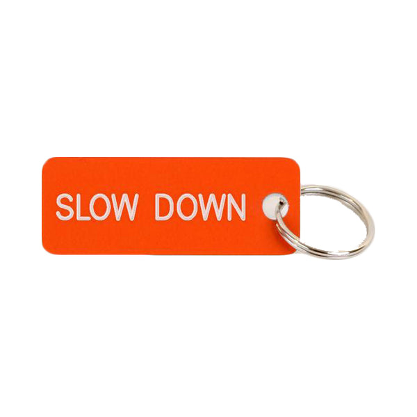 Key Tags by Various Projects | Slow Down