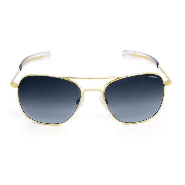 Randolph Aviator | 23K Gold with Blue Gradient Lens