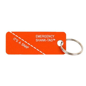 Keytag | Emergency Shank-Tag