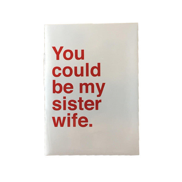 You Could Be My Sister Wife Card