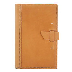 Small Leather Pad Portfolio | Buckskin