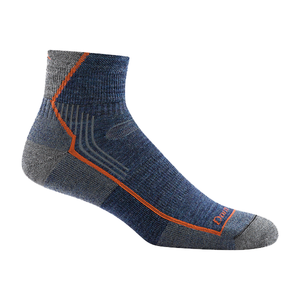 Hiker 1/4 Sock Cushion | Denim