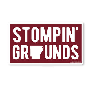 Stompin' Grounds Sticker
