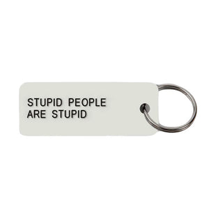 Stop Making Stupid People Famous Button