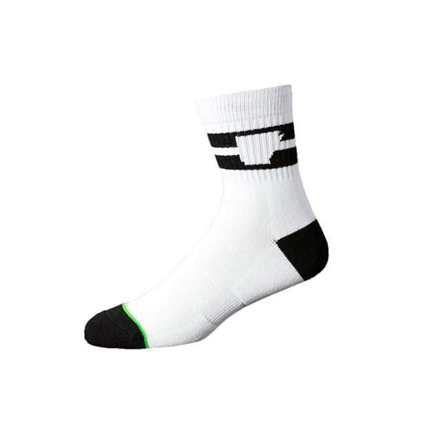 Taligater Mid Sock | White