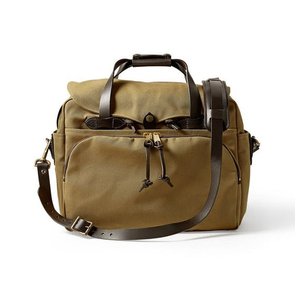 Filson Padded Computer Bag | Tan