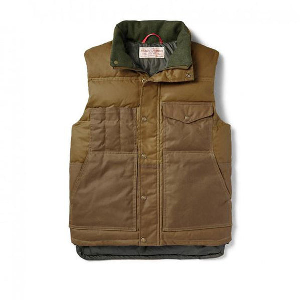 Filson Down Cruiser Vest | Tan