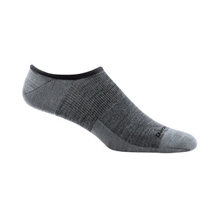 Topless Solid No Show Light Sock | Gray
