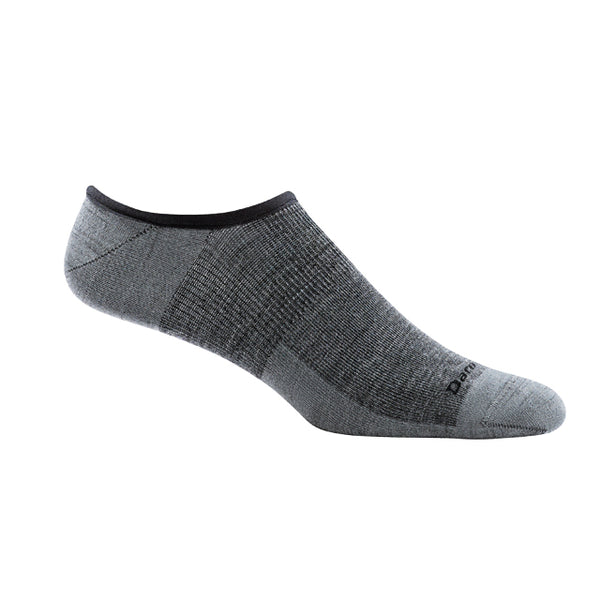 Darn Tough Topless Solid No Show Light Sock | Gray
