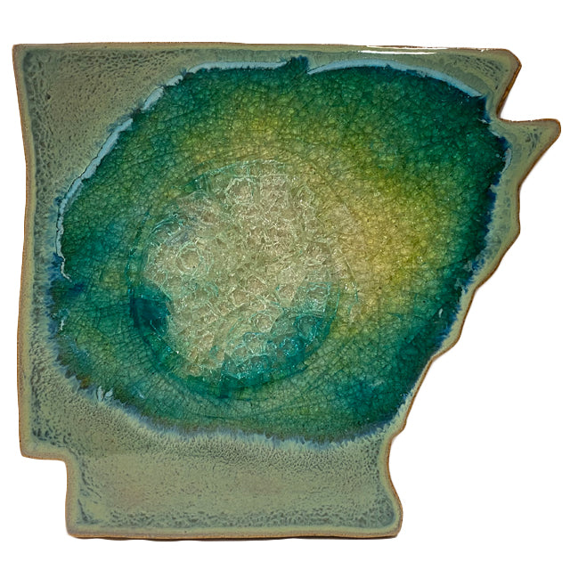 Arkansas Trivet | Textured Turquoise