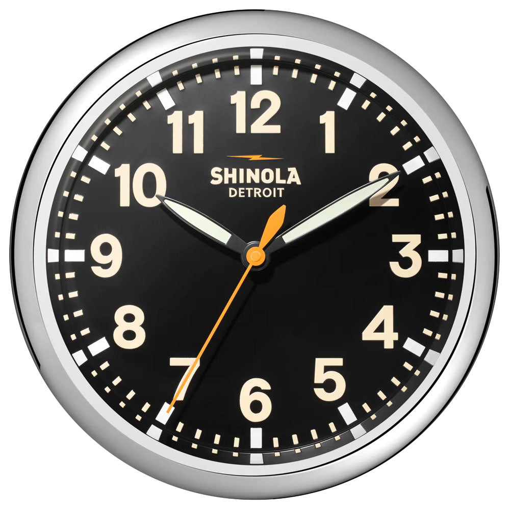 Runwell 14' Wall Clock | Black