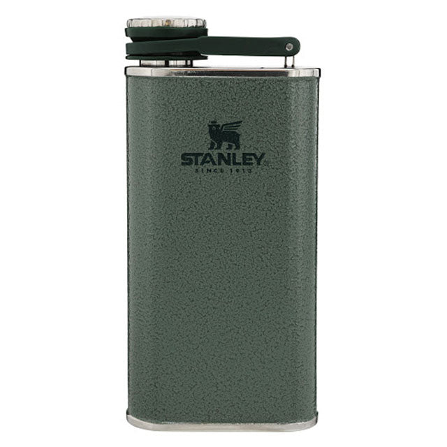 Easy Fill Wide Mouth Flask | Hammertone Green