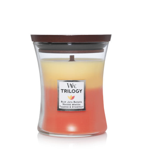 Candle Jar WoodWick Trilogy Tropical Sunrise