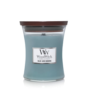 Candle Jar WoodWick Blue Java Banana