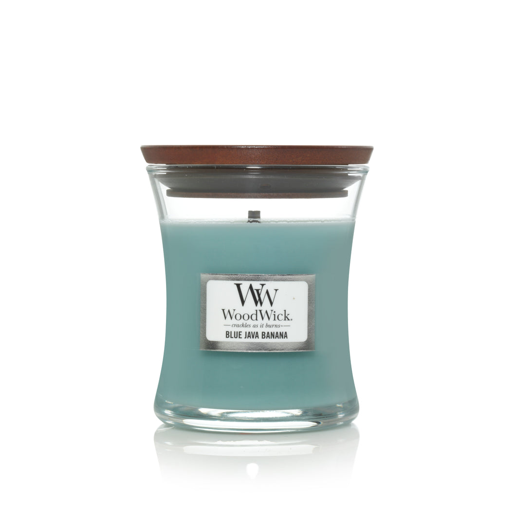Woodwick Candle Jar - Blue Java Banana