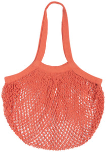 Shopping bag net coral
