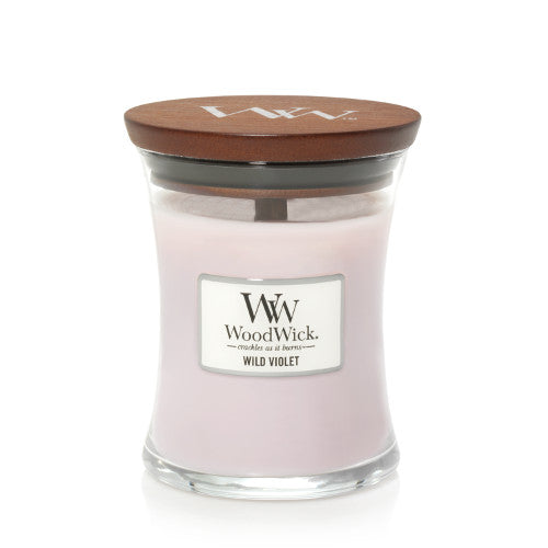 Candle Jar Woodwick Wild Violet