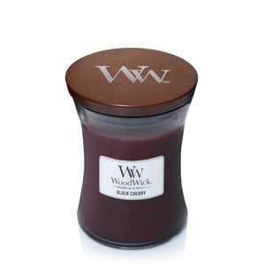 Candle Jar WoodWick Black Cherry